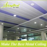 En 2018 à la mode C suspendu en forme de bandeau de panneau en aluminium industriel les carreaux de plafond