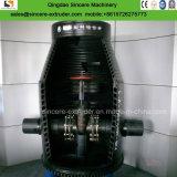 Espulsore/macchina di plastica del tubo di spirale del PE di ventilazione della miniera