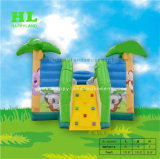 Casa inflable gorila inflable Castillo Moonwalk Puente inflables