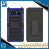 Het klassieke Geval van de Telefoon van de Klem van de Riem van het Holster van 3 Laag Ruwe Mobiele voor Samsung S8 plus
