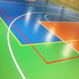 Revêtement de sol en vinyle PVC synthétique Sport Fournisseurs