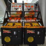 O melhor divertimento a fichas eletrônico de venda da arcada do jogo do tiro do basquetebol 2016