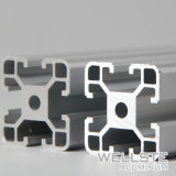 20 X 20 Ranura en T V RAÍL LINEAL de la ranura de los perfiles de extrusión de aluminio