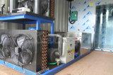 Máquina de gelo Containerized móvel do floco com compressor de Bitzer