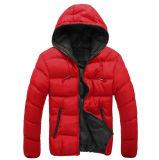 2016 Wholsale колпачковая высокого качества с молнией мужчин Зимняя куртка