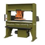Cabeça de deslocamento da máquina de corte hidráulico para a parte superior de couro