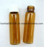 Het duidelijke en Amber Tubulaire Flesje van het Glas voor Farmaceutische en Kosmetische Verpakking