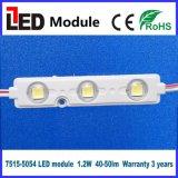 5054 al aire libre de interior LED de la muestra de la carta de canal de la fuente de luz del LED del módulo ligero de la tarjeta LED