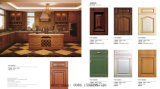 ヨーロッパ式PVC膜MDFの食器棚の食器棚(新しいモデル)