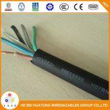 450/750V 3*3*1,5 mm2 de 2,5 mm2 Cable Flexible de goma