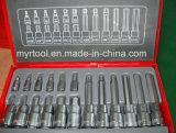 "18자의 PCS 1/4 "" Dr&1/2 "" 박사 Professional Bits Socket Set (FY1418A)"