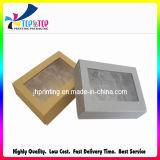 Rectángulo de joyería negro de empaquetado de papel del diseño del OEM de la alta calidad