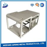 Het naar maat gemaakte Geval/de Bijlage van het Vakje van de Batterij van het Aluminium van het Metaal van het Blad met Waterdicht