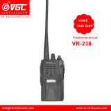 Walkietalkie de la frecuencia ultraelevada de la radio de jamón del canal del negro 16 de la alta calidad Vr-230 400-470 megaciclo