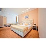 安い価格の2組の星MDFの積層のホテルの家具の寝室セット