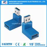 Мужчина USB 3.0 к женскому переходнике High Speed конвертера