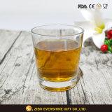 Promotion du vin en verre clair rond en verre de Whisky