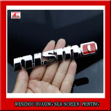 ISO/Ts16949를 가진 높은 Qualitycustomized 차 상징 기장은 증명했다
