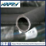 Flexible d'huile industrielle haute pression hydraulique du flexible en caoutchouc R2