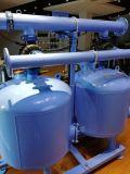 Doppio-Alloggiamento del sistema di filtrazione di media della sabbia del quarzo con la macchina del filtrante di /Irrigation dei due cilindri