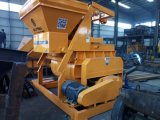 De dubbel-horizontaal-schacht Gedwongen Machine van de Bouw van de Concrete Mixer van het Type