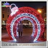Handelsstraßen-Kugel-Dekoration-Motiv-Licht des großverkauf-LED im Freien