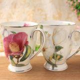 Design europeu caneca de porcelana casais bone china multa Caneca Caneca bone china