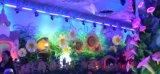 Con 32 Farol pcsx3w LED RGBW para la etapa, concierto, el hotel, etc..