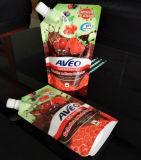 500ml洗剤のためのプラスチック口の袋の包装袋