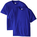 Normales Baumwollkurzschluss-Hülsen-T-Shirt passen Drucken-Form-Firmenzeichen-T-Shirt an