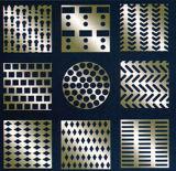 Galvanzed rundes Loch-perforiertes Metall