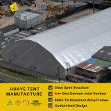 工場直売の多角形の玄関ひさしのテント