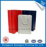 Papier coloré fait sur mesure un sac de shopping avec plastification