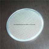Disco tecido aço do filtro de engranzamento do fio de Stainess para o tratamento da água & do petróleo