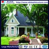 Decorados Prefab Impermeável House Light Estrutura de aço