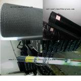 Pantalla revestida de Mosquot de la fibra de vidrio de la armadura llana del PVC