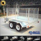 LED Light Trailer를 가진 테일 Lamp Tandem Axle Cage Trailer