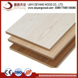 Walnut /Teck/cendres /Le Chêne rouge face du papier de contreplaqué de mélamine/MDF