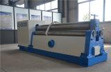 Máquina de dobra elétrica simétrica mecânica da placa de 3 rolos da máquina de rolamento da placa da máquina de dobra da folha de metal dos rolos 3