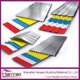 Teja Yx25-210-1050 alta calidad en color acero Techo para materiales de construcción