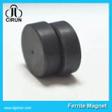 Magnete permanente duro di ceramica del ferrito del disco Y40