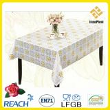 PVC Lace Table Cloth in Roll Cina Factory Oko-Tex 100
