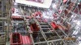Estructura de acero prefabricada para la central eléctrica