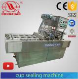 Empaquetadora de relleno de alta velocidad de lacre del helado de la capacidad con la impresora del código y el capsular automático para la taza de papel
