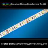 5050 largura acíclica ultra magro da letra 10mm da luz de tira do diodo emissor de luz