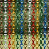 Het mooie Gordijn van het Metaal van de Keten van de Link van het Aluminium van de Kleur Decoratieve