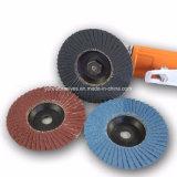 Nonferrous Welding Polishing를 위한 75mm Zirconia Alumina Flap Disc Grit 24-400#