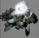 Оптовая торговля моды домашний ручной работы головные уборы ремесел перья декоративные цветы