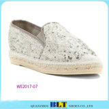 Hot Sale Shinny Casual Shoes Espadrilles