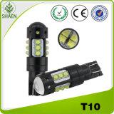Luz branca do carro do diodo emissor de luz de T10 12V 24V 80W